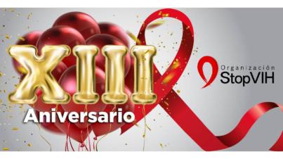 13 Aniversario StopVIH